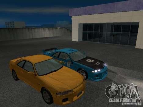 Nissan Skyline R 33 GT-R para GTA San Andreas vista superior