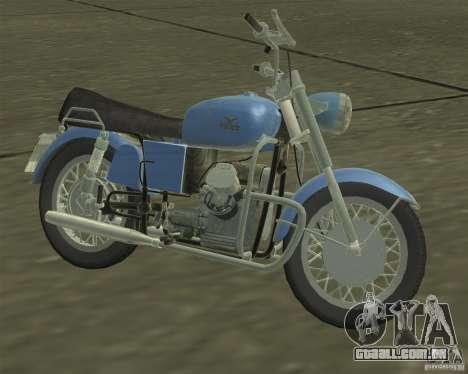 Moto Guzzi 850 GT para GTA San Andreas