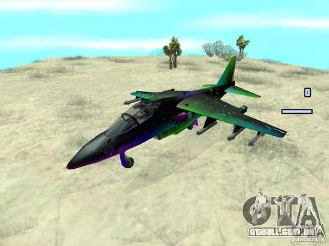 Colorful Hydra para GTA San Andreas vista direita