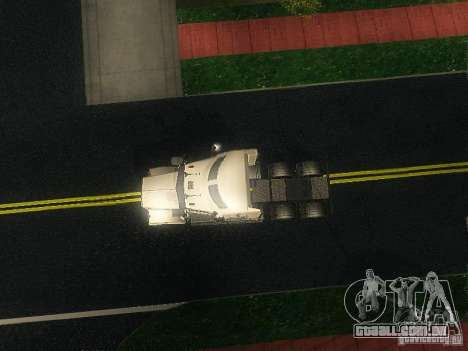 Kenworth T908 para GTA San Andreas vista interior