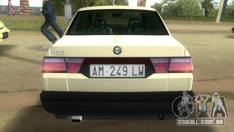 Alfa Romeo 155 Entry 1992 para GTA Vice City deixou vista