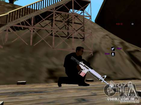 Ice Weapon Pack para GTA San Andreas twelth tela