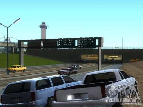 Novo Picador para GTA San Andreas vista traseira