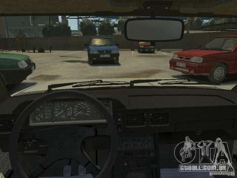 FSO Polonez para GTA 4 traseira esquerda vista