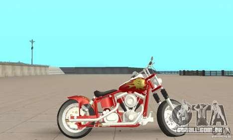 Orange County old school chopper Sunshine para GTA San Andreas