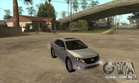 Ford Fusion V6 DUB 2011 para GTA San Andreas vista traseira