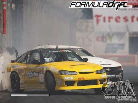 Telas de carregamento Formula Drift para GTA San Andreas nono tela