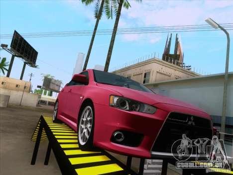 Auto Estokada v1.0 para GTA San Andreas por diante tela