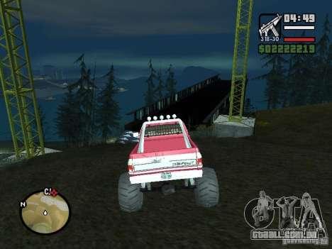 Monster tracks v1.0 para GTA San Andreas terceira tela