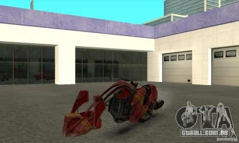 Bicicleta nova de Star Wars para GTA San Andreas