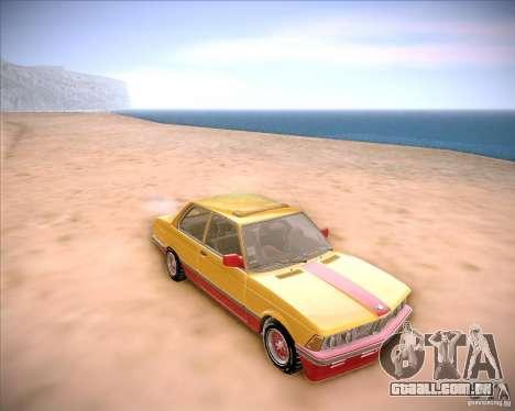 BMW E21 para GTA San Andreas vista traseira