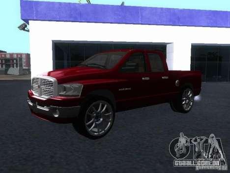 Dodge Ram 1500 v2 para GTA San Andreas vista direita