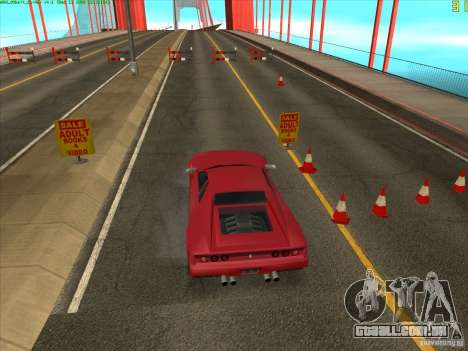 Ponte Takomskij (Tacoma Narrows Bridge) para GTA San Andreas por diante tela