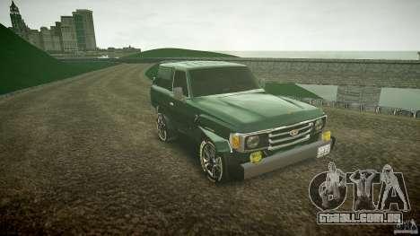 Toyota Land Cruiser 4.5 V2 para GTA 4 vista de volta