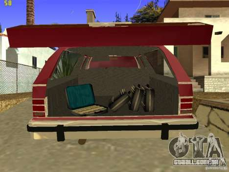 Mercury Grand Marquis Colony Park para GTA San Andreas vista traseira