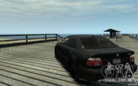 BMW M5 E39 para GTA 4 traseira esquerda vista