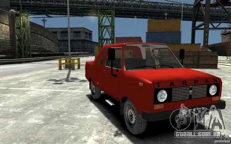 FSR Tarpan 237D para GTA 4 vista de volta