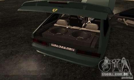 VAZ 2113 Ferrari para GTA San Andreas vista superior