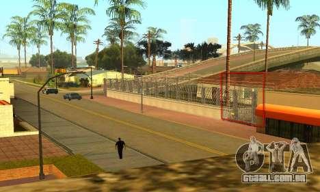 Cerca ao redor do Groove Sreet para GTA San Andreas por diante tela