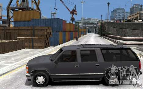 Chevrolet Suburban GMT400 1998 para GTA 4 esquerda vista