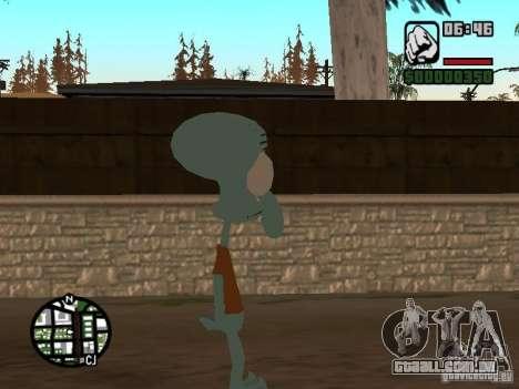 Lula Molusco para GTA San Andreas terceira tela