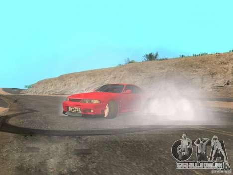 Fumaça e novas água de texturas para GTA San Andreas sexta tela