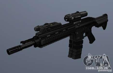 Carabina HK416 para GTA San Andreas terceira tela