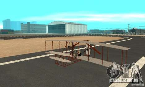The Wright Flyer para GTA San Andreas