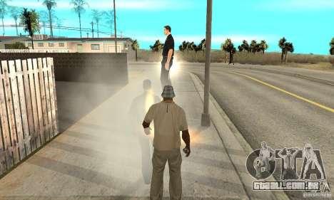 SuperClon (clonagem pessoas em SAN ANDREAS) para GTA San Andreas sexta tela