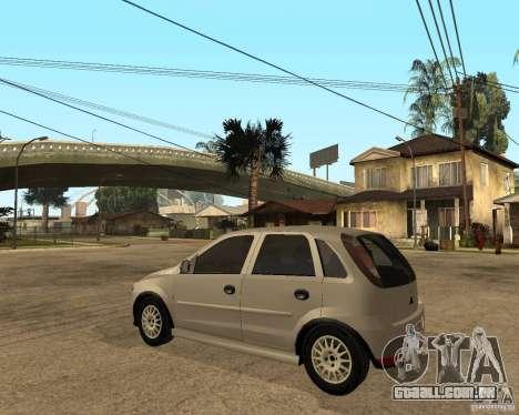 Opel Corsa C para GTA San Andreas