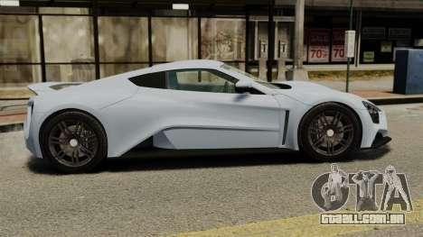 Zenvo ST1 para GTA 4 esquerda vista
