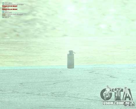 [Point Blank] WP Smoke para GTA San Andreas segunda tela