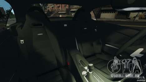 Mercedes-Benz SLK 55 AMG 2010 para GTA 4 vista interior