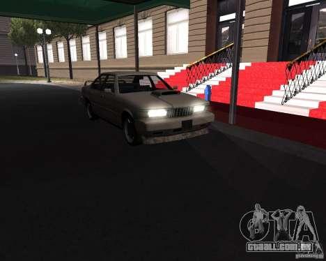 Sentinel XS 1992 para GTA San Andreas traseira esquerda vista