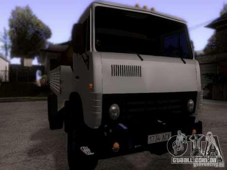 Tanque de leite 53212 KAMAZ para GTA San Andreas vista direita