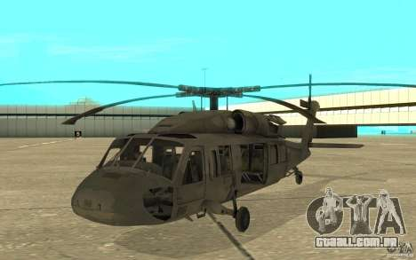 UH-80 para GTA San Andreas esquerda vista