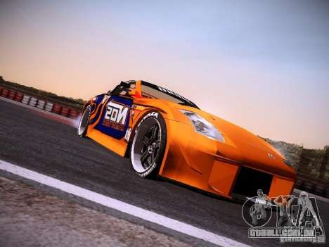 Nissan 370Z Chris Forsberg para GTA San Andreas