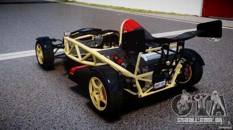 Ariel Atom 3 V8 2012 para GTA 4 traseira esquerda vista