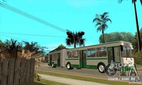 LIAZ 6212 para GTA San Andreas esquerda vista
