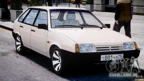 Vaz-21093i para GTA 4 vista lateral
