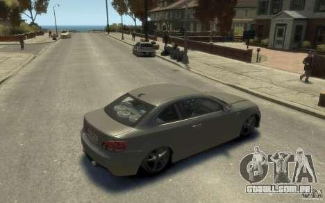 BMW 135i para GTA 4 vista direita