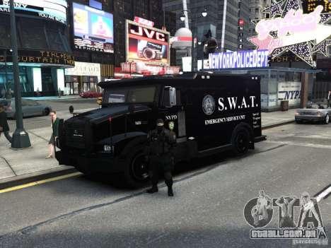 SWAT - NYPD Enforcer V1.1 para GTA 4
