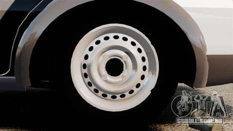 Fiat Palio Weekend Trekking 2013 PMESP ELS para GTA 4 vista de volta