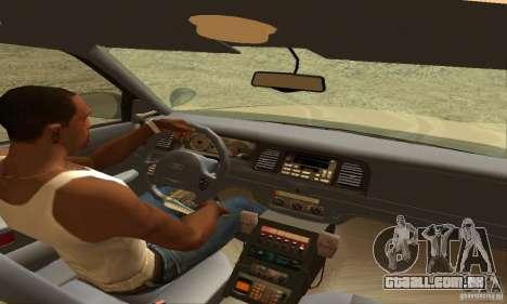 Ford Crown Victoria New Hampshire Police para GTA San Andreas traseira esquerda vista