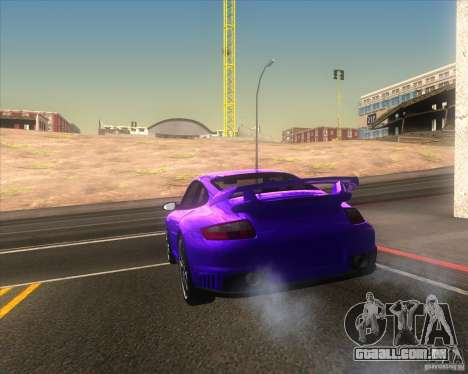 Porsche 911 GT2 (997) para vista lateral GTA San Andreas