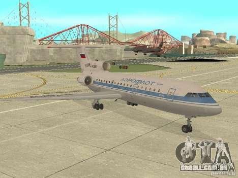 Aeroflot Yak-42 para GTA San Andreas