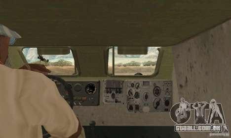 Pele BRDM-1 1 para GTA San Andreas vista traseira