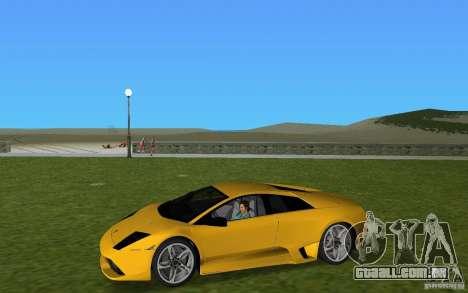 Lamborghini Murcielago LP640 para GTA Vice City vista traseira