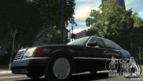 Mercedes-Benz 600SEL wheel2 non-tinted para GTA 4 esquerda vista