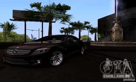 Mercedes-Benz CL65 AMG E.U. para GTA San Andreas vista direita